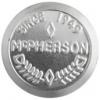 Embossed Flat Plate Aluminium 64mm Cones Mcpherson Pattern